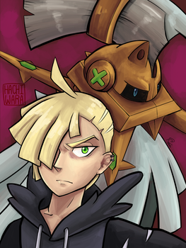 Wild Gladion Appears by Hachiwara