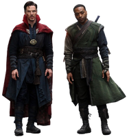 Doctor Strange and Baron Mordo - Transparent! by Camo-Flauge