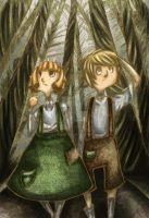 Hanzel and Gretel: Lost by MaryAQuiteContrary