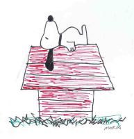 snoopy by GuitarGrrrl