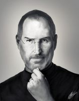 Steve Jobs by IronHard