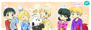 .: Peanuts :. by FnFiNdOART
