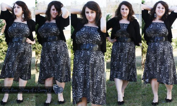 Reused Leopard Maxi Skirt by LadyLuck89