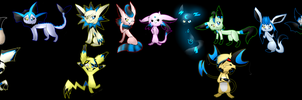 .:Lunas evolutions chain:. by LunaticDemonLuny