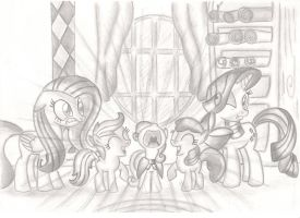 CUTIE MARK CRUSAIDERS!!! by Blueaugen