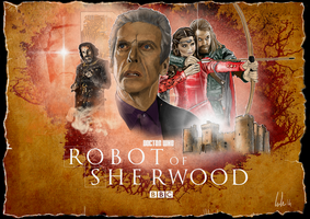 Robot of Sherwood by ChristopherOwenArt