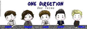 1D - ONE THING by nyxxeii