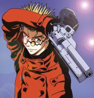 Trigun - Vash the Stampede by shupatra