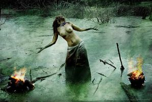 Swamp witch - 5 by Fatalis-Polunica