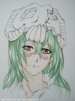 Neliel Tu Oderschvank (Bleach) - Progress 2 by Draw-With-Mira-chan