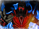 Injustice Red Scorpion by thatsaxi