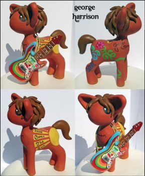 George Harrison Pony by balletvamp