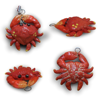 Little Crab Charm by CatCowProduce