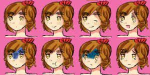 APH Wy Faceset by theMoontheSuntheStar