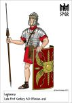 Late First Century Roman Legionary by VoteDave