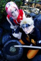 NaruSaku by Zettai-Cosplay