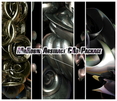 MrRobin abstract c4d package by MrRoBiN