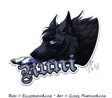 Badge Runi by Pample