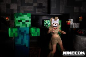 Minecraft Mobs are Coming For You by CharmandersFlame