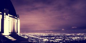 The Griffith Observatory by KovoWolf