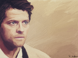 Castiel || Supernatural by Raesh3ll