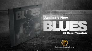 Blues CD Cover Template by prassetyo