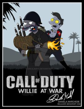 CALL OF DUTY : WILLIE AT WAR by DalilaGFX