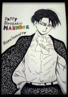 Levi Ackerman For Mahnoor by KuroInsanity