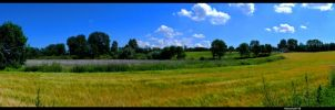 Landescape panorama of Denmark by marschall196