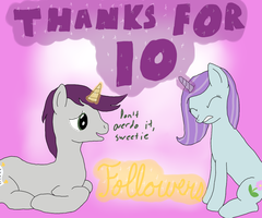 Chat with Tootsie 10 Followers Milestone by Allonsbro