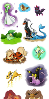 X-mas gifts - Pokemon - Happy holidays everyone! by Eifi--Copper