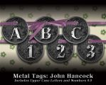 Metal Tags: John Hancock by PyroNsanity-Stock
