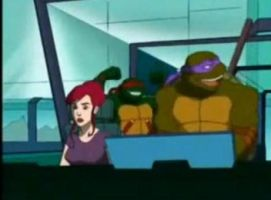 Raph showing off lol by TMNT224