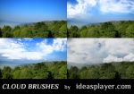 Cloud Brushes by Ideasplayer