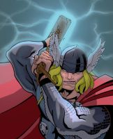 Thor colored by WTK