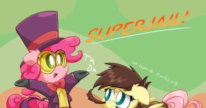 Chibi's: MLP FIM Welcome to superjail! by mordecairigbylover
