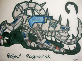 first look at project Ragnarok by Blabyloo229