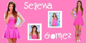 Wallpaper Selena Gomez by CutinaEditions