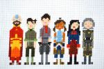 Legend of Korra Cross Stitch by Nightstar1231