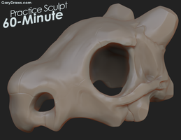 Cubone - 60-Minute Practice Sculpt by GaryStorkamp