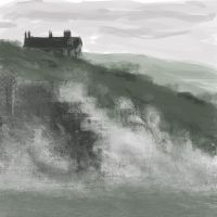 daily study from the papers: storm in Cornwall by popicok