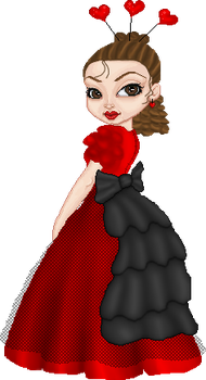 V-day Ball Gown by PattyJean