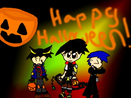 Happy Halloween Guys by Xemcail