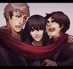 where the hell is armin by Dragons-Roar