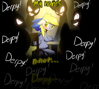 Call her Derpy.... by Serendipity-Kitty