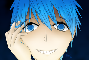 Yandere Kuroko (Warning - scopophobia) by PixelSoulResonance