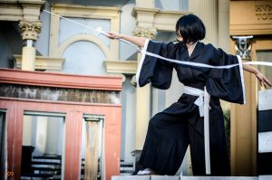 Rukia Cosplay: Strike by firecloak