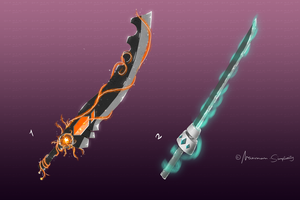 Weapon Adoptable Set E - CLOSED by Maximum-Simplicity