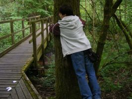 My Son the Tree Hugger by Witchling-V