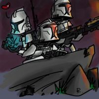The Clone Wars, beautifuuuul by Ayej